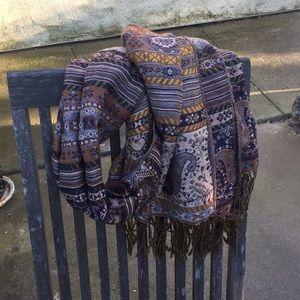 Beautiful patterned scarf